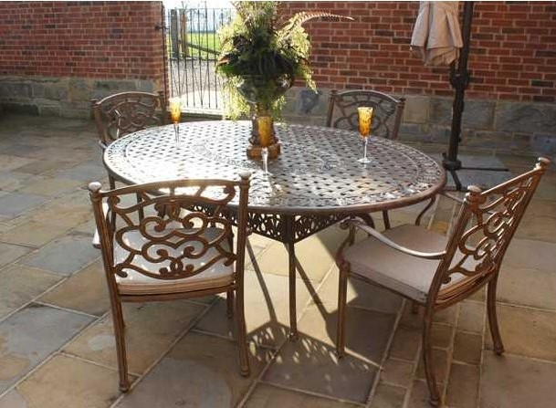 casino-oval-table-4-chairs-set